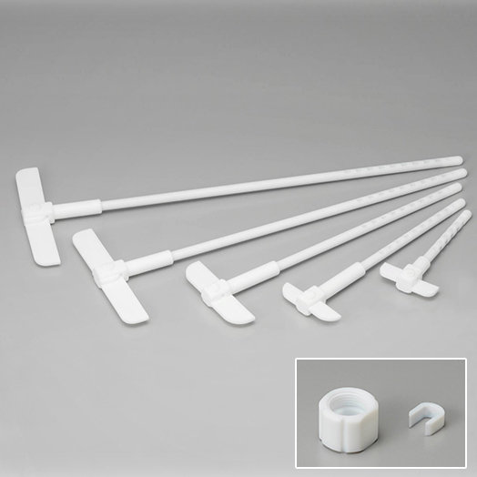 High loadable PTEE stirring rod